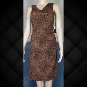 American Living Leopard Print Dress Size 2